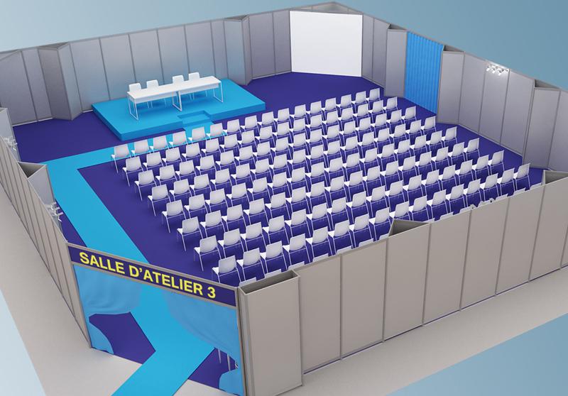 speaker's room 3D