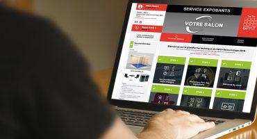Online exhibitors platform