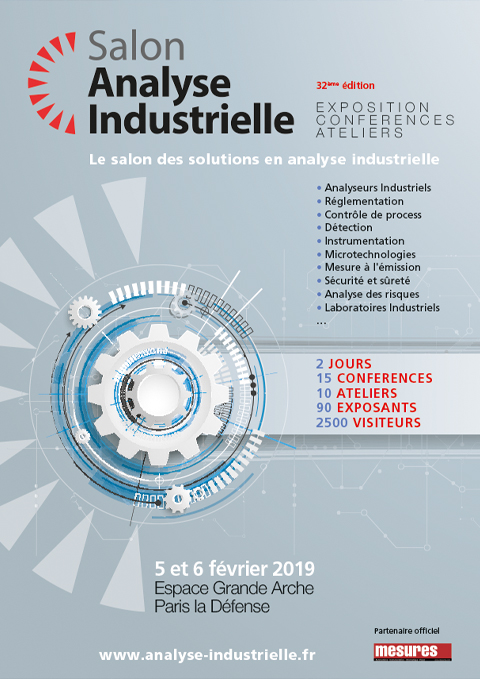 SALON ANALYSE INDUSTRIELLE