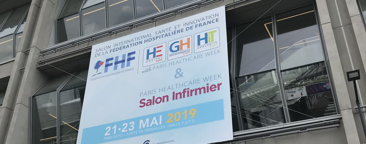 SPAT, technical and logistic SUPPORT, exhibitors management of Paris Healthcare Week 2019!