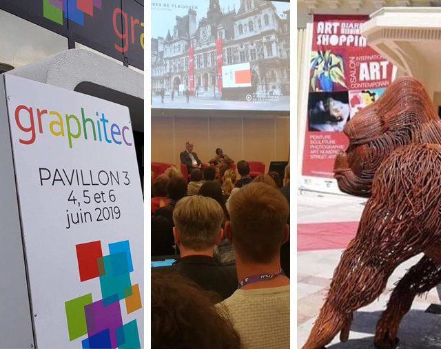 GRAPHITEC 2019 - 65th CONGRes ABF - ART SHOPPING BIARRITZ