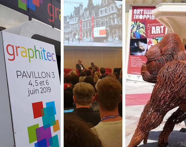 GRAPHITEC 2019 – 65th CONGRes ABF – ART SHOPPING BIARRITZ