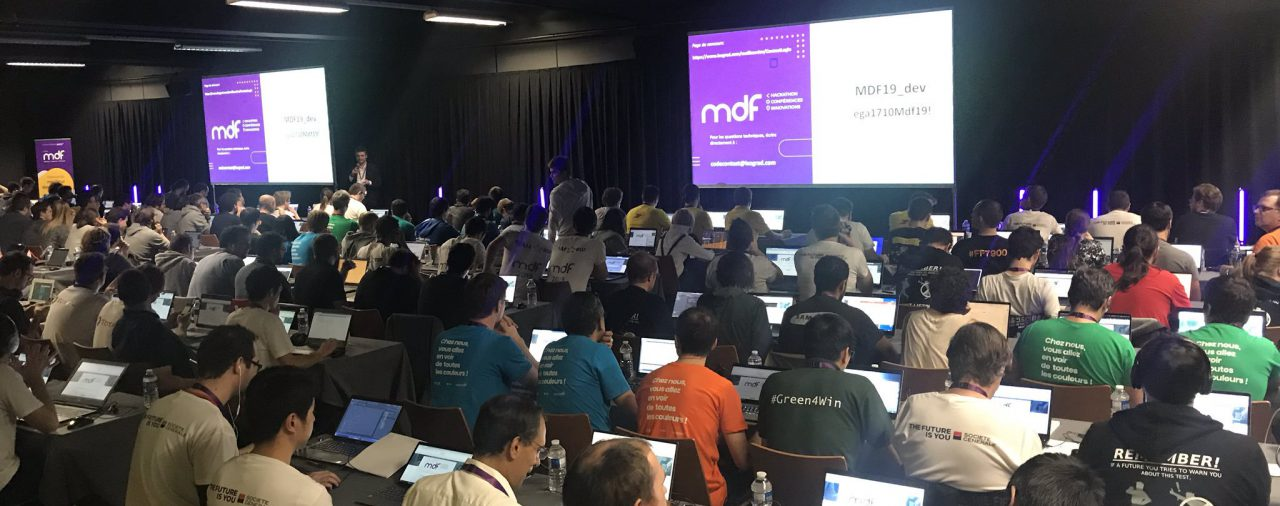 MDF 2019 (Best Developer in France):